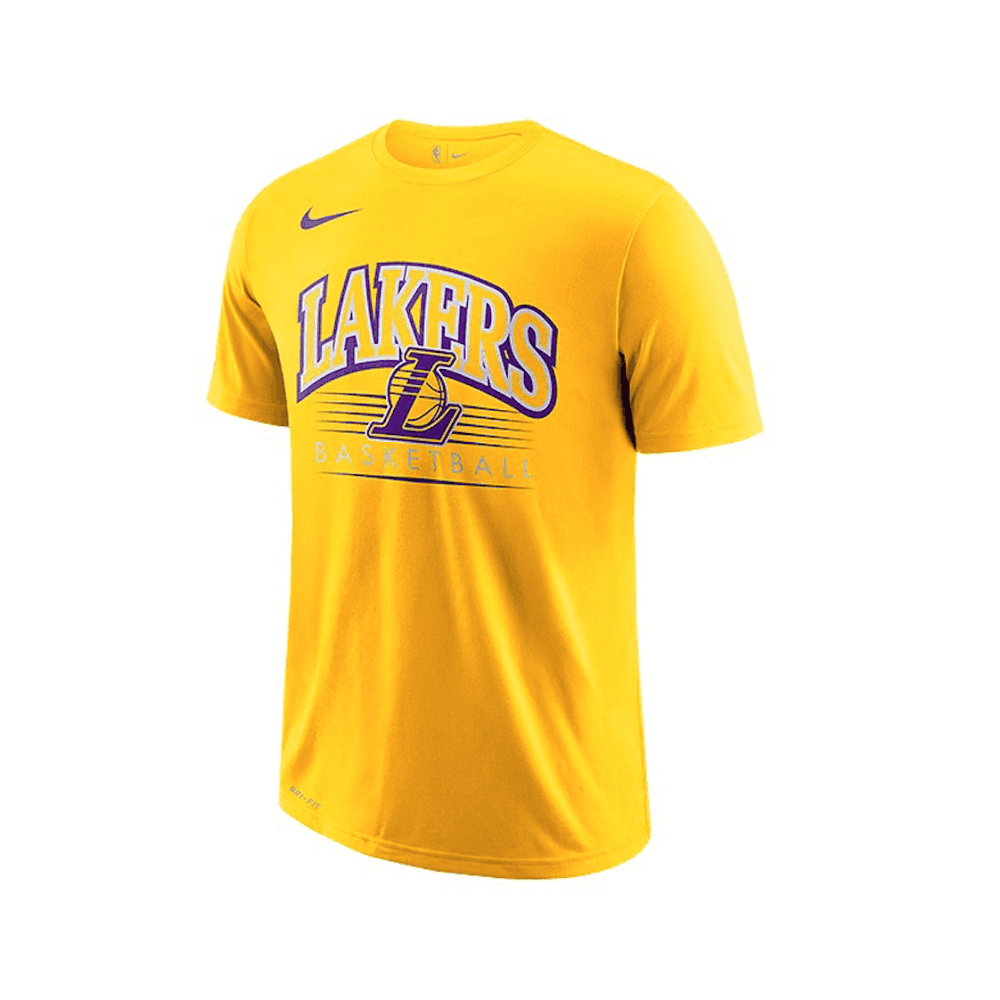 Nike NBA Los Angeles Lakers Crest Logo Youth T Shirt
